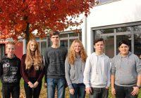 Die neuen Schülersprecher des Bildungszentrums