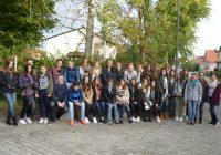 Französische Austauschschüler aus Le Lion d'Angers bei uns zu Gast