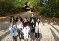 Outdoor-AG erkundet Stadtwald mit Bürgermeister Deinet