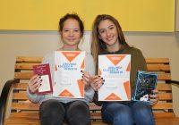 Romy Szauer gewinnt den Schulentscheid beim Vorlesewettbewerb